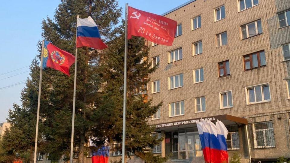 Знамя Победы в Барнауле