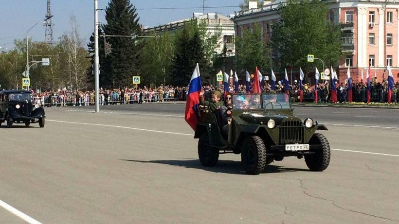 Парад 9 Мая 2021 года в Барнауле Фото:Виталий Барабаш