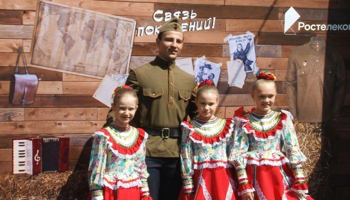 Праздники в честь Великой Победы прошли и в парках Барнаула