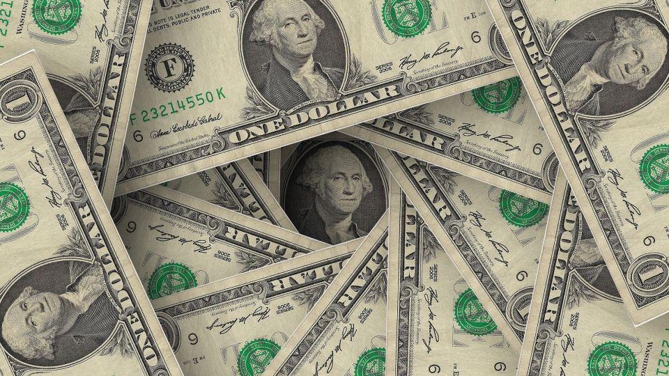 Доллар. Деньги. Купюры