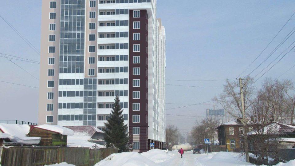 Эскиз дома на ул. Пролетарской, 182