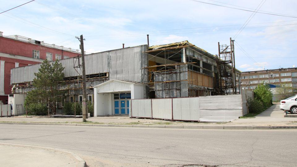 Реконструкция спорткомплекса Алтайского педуниверситета