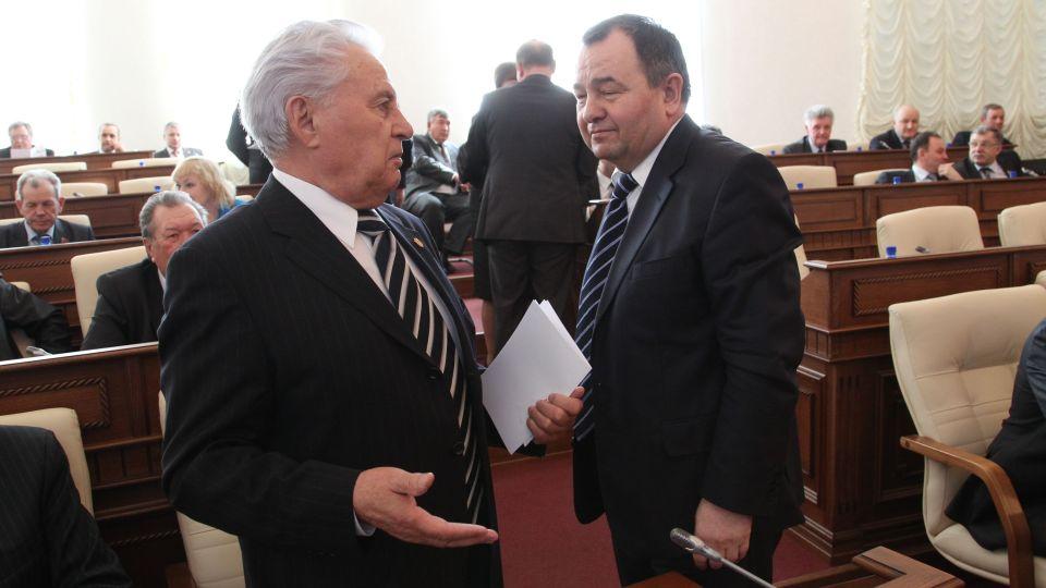 Александр Назарчук (слева) и Борис Трофимов