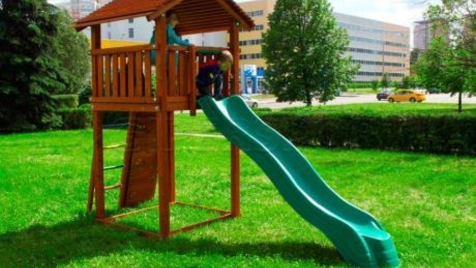 Детская площадка. Горка