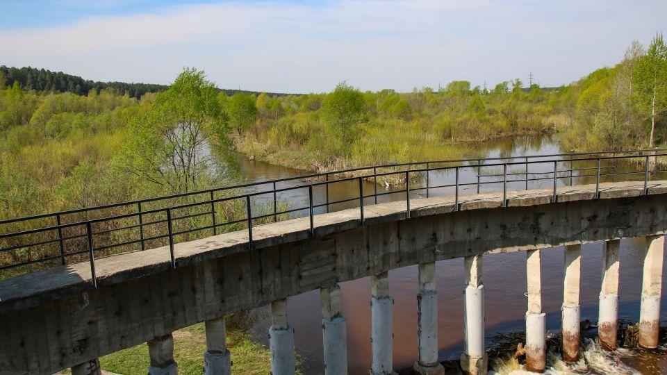 Лесной пруд, пос. Кирова
