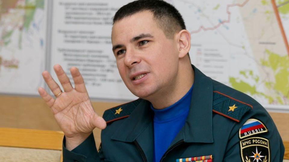 Глава ГУ МЧС России по Алтайскому краю Александр Макаров.