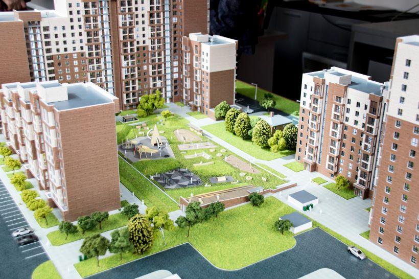 """Сити квартал """"Мичурин парк"""" и """"Ютссон"""". Май 2021 года  Фото:Виталий Барабаш и компания """"Адалин"""""""