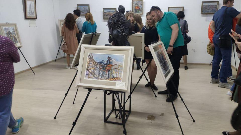 Необычная выставка индустриального пейзажа открылась в Барнауле