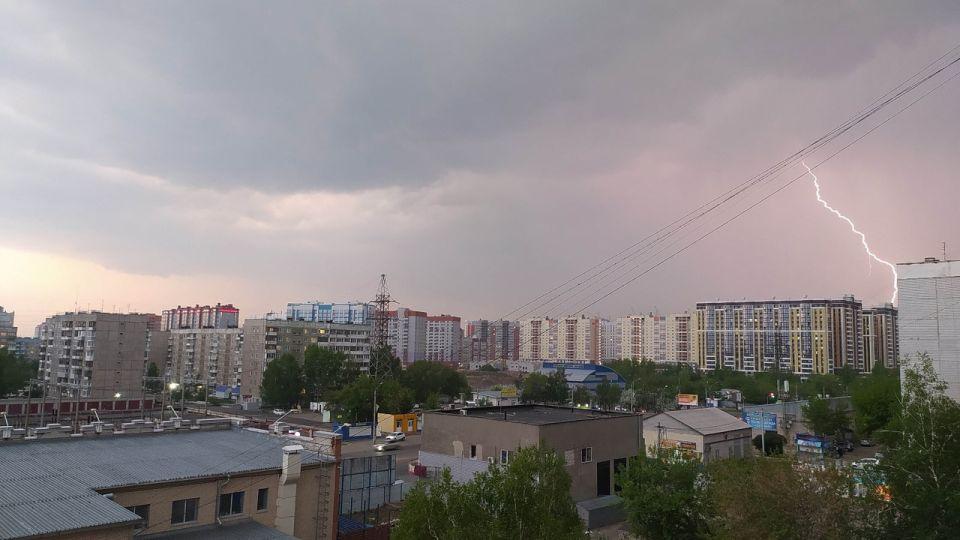 Гроза в Барнауле