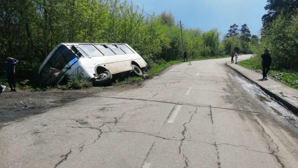 Авария под Новосибирском
