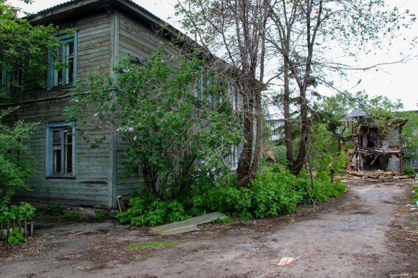 Аварийный дом  Фото:Виталий Барабаш