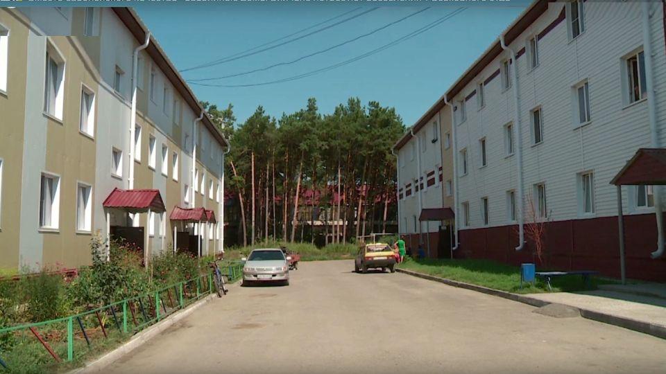 Дома на улице Спекова в Бийске