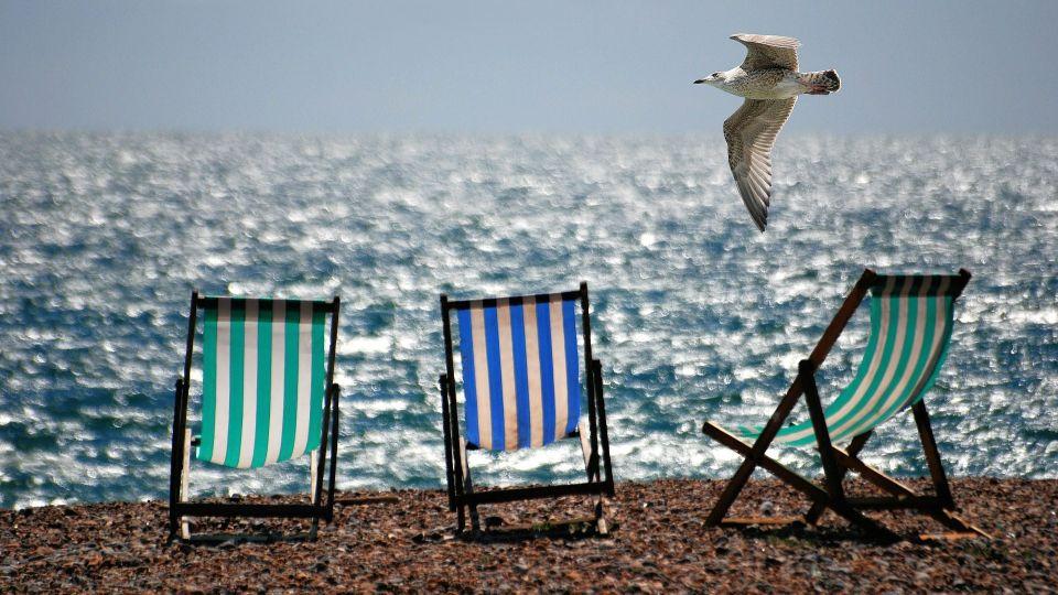Пляж. Отпуск