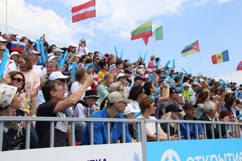 В Барнауле завершается второй этап Кубка мира по гребле на байдарках и каноэ Фото:Виталий Барабаш