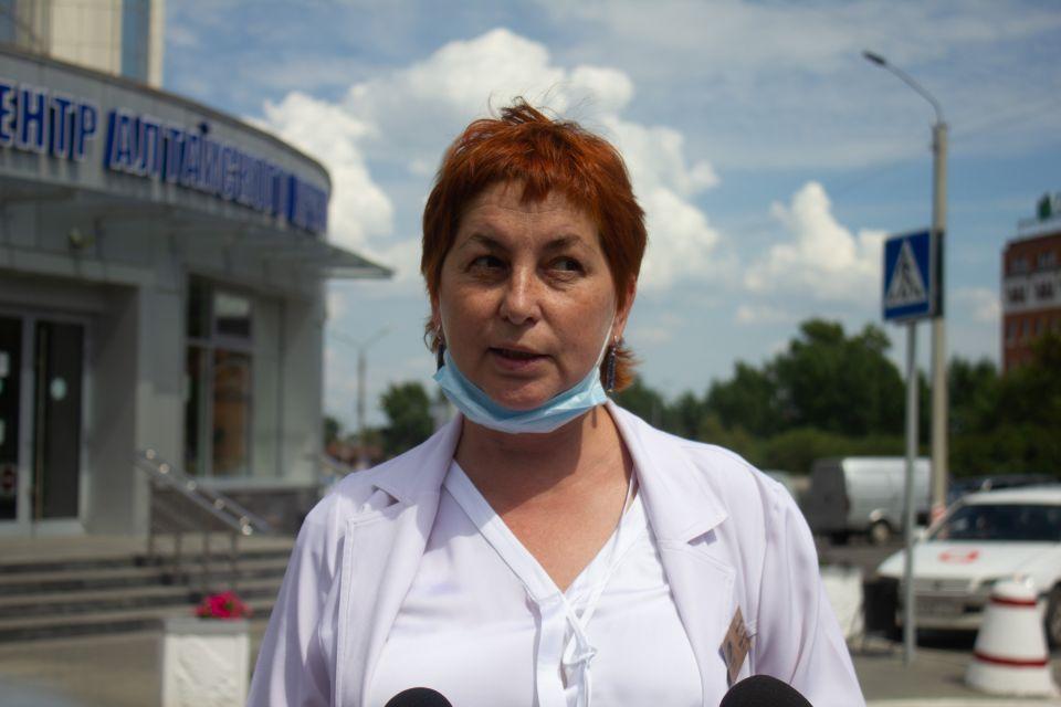 Оксана Лексенкова, главный врач Диагностического центра Алтайского края