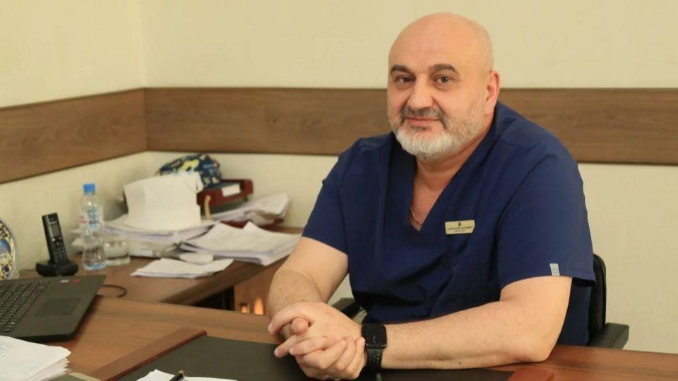 Андрей Макин, главврач краевой больницы скорой помощи
