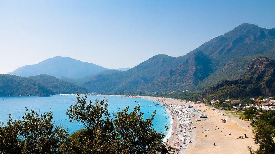 Пляж. Турция