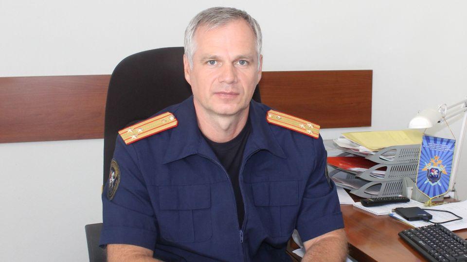 Константин Ротштейн, руководитель отдела криминалистики СУ СКР по Алтайскому краю.
