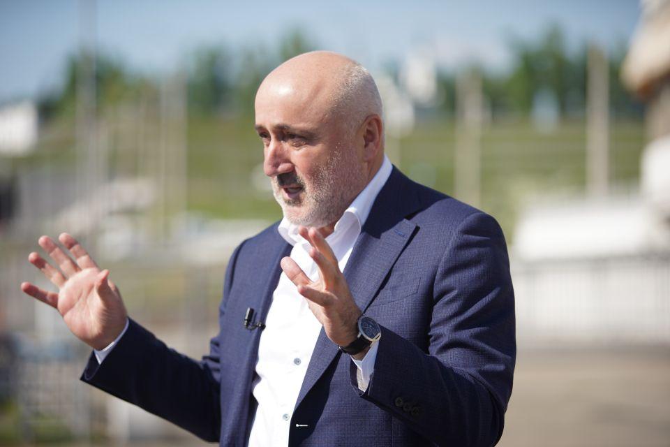 """Нодар Шония, генеральный директор компании """"Селф"""""""