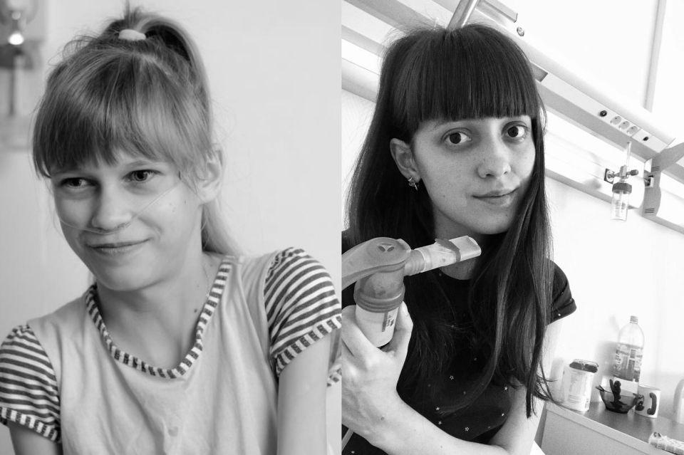 Оля Зяблова и Алена Родионова.