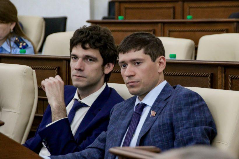 54-ая сессия Алтайского краевого Законодательного собрания Фото:Виталий Барабаш
