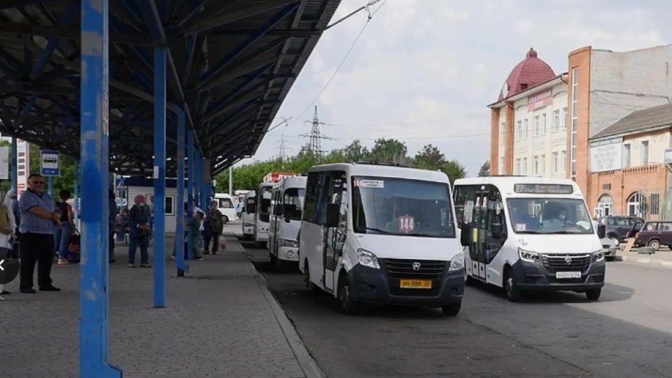 Общественный транспорт. Автобус