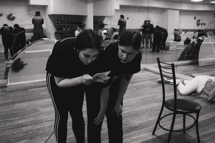 """Барнаульцев приглашают на премьеру спектакля-эксперимента Фото: """"Homo Artisticus"""" АлтГУ"""