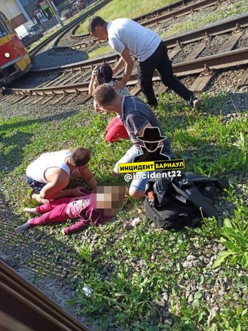 """Место просишествия Фото:""""Инцидент Барнаул""""/""""ВКонтакте"""""""