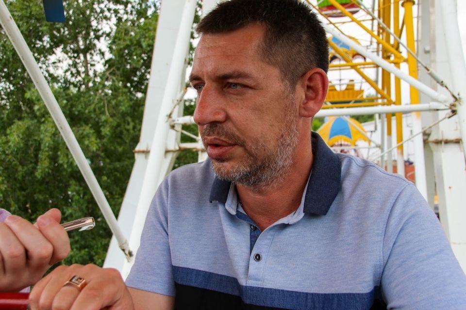 "Директор парка ""Арлекино"" Михаил Щемелинин"