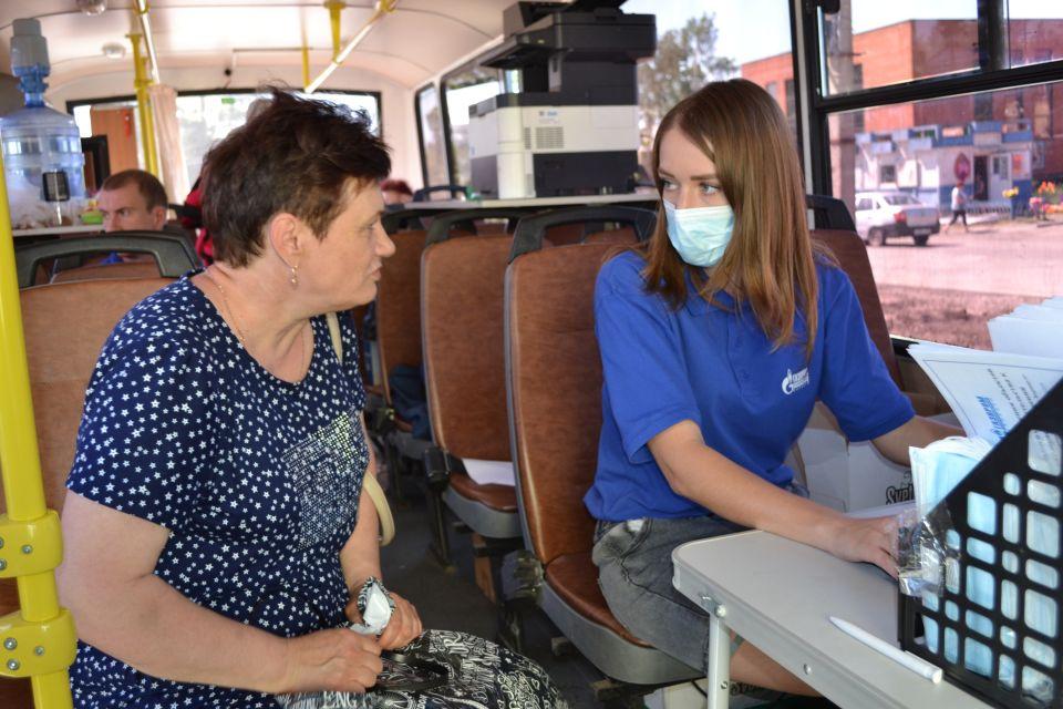 Жители Ребрихи довольны «мобильным офисом» «Газпром газораспределение Барнаул»