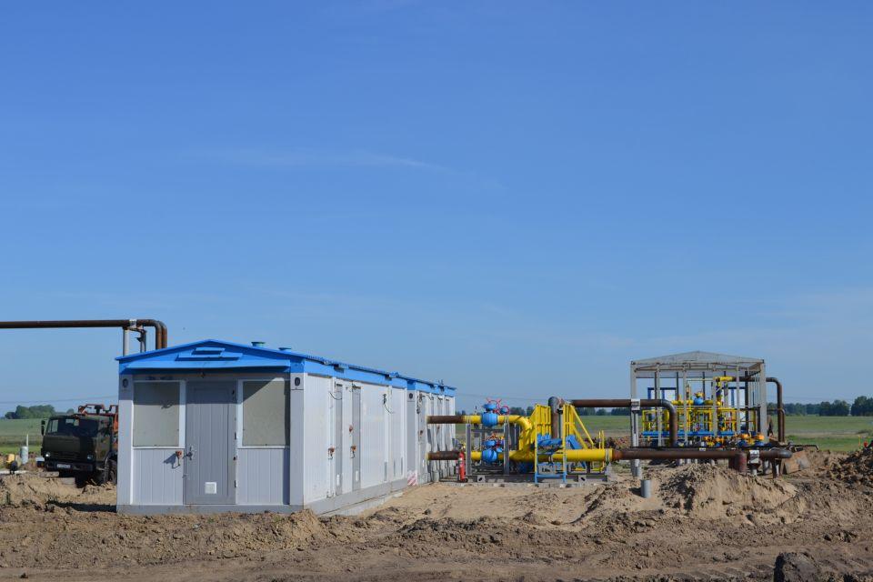 В окрестностях Ребрихи достраивается газораспределительная станция