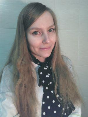 Врач-офтальмолог Алина Полякова.