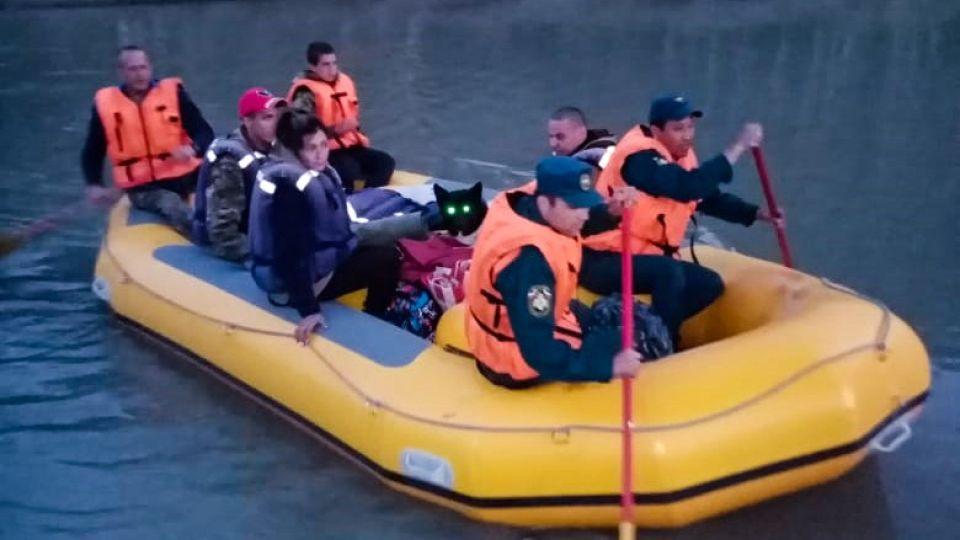 Спасение туристов
