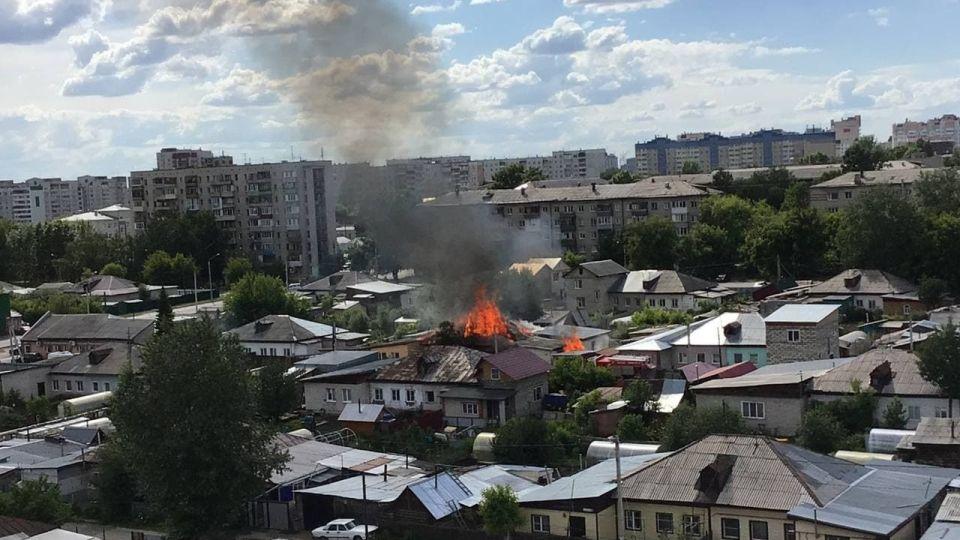Дом. Пожар