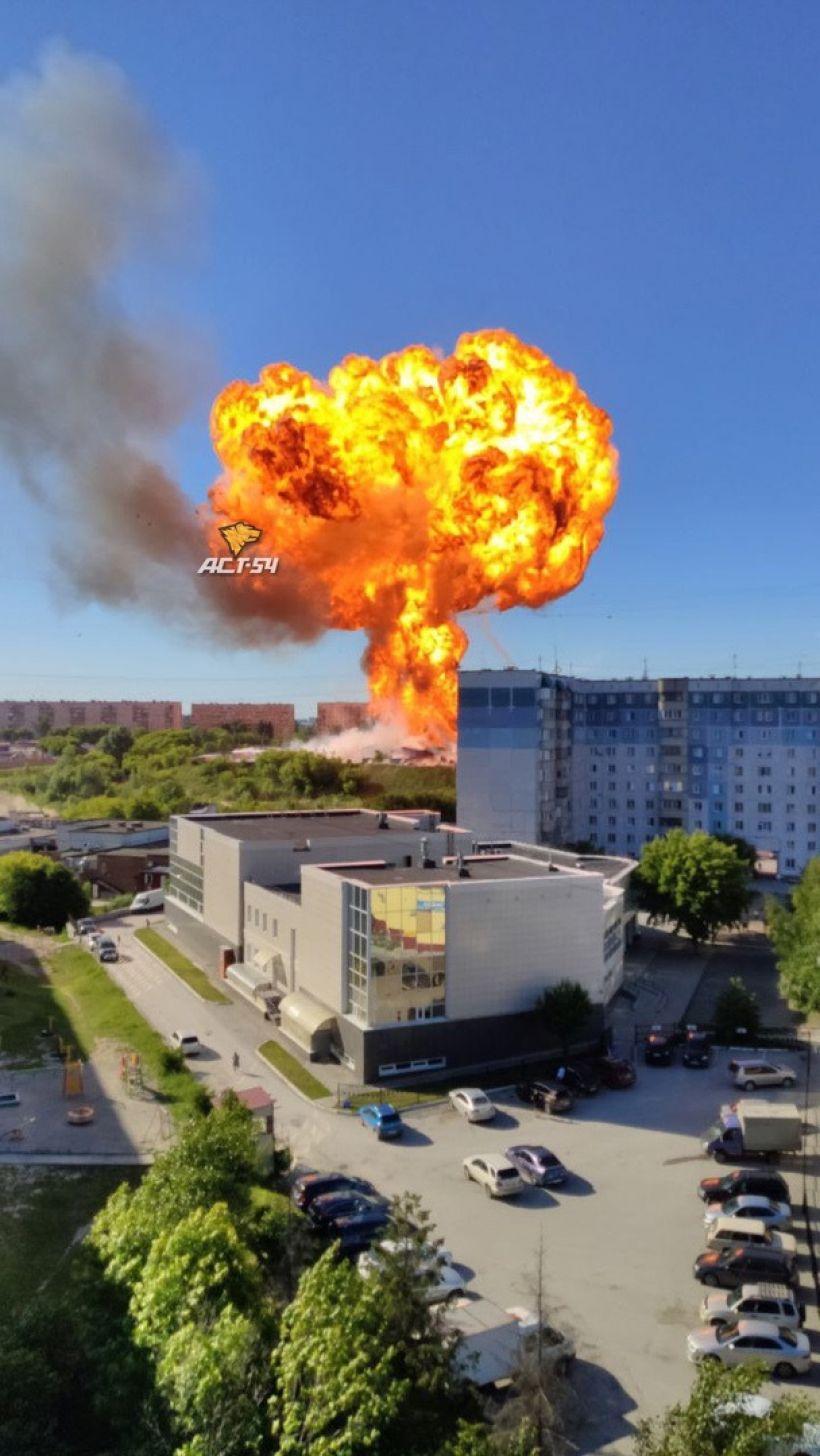 """Место происшествия Фото:""""АСТ-54/""""ВКонтакте"""""""
