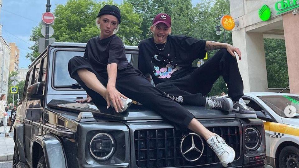Настя Ивлеева и Даня Милохин