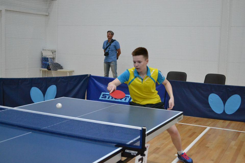 В Бочкарях проходят всероссийские соревнования по настольному теннису