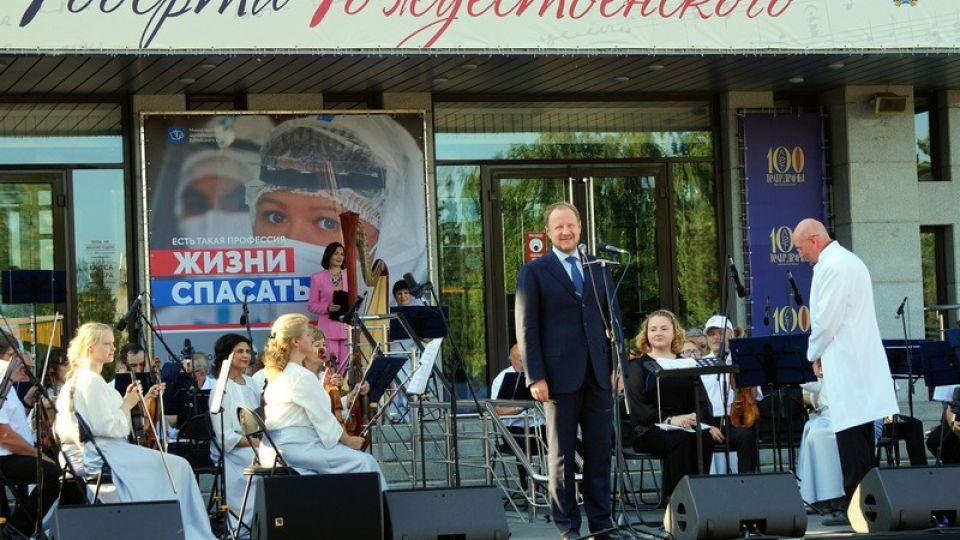 Виктор Томенко на фестивале Роберта Рождественского