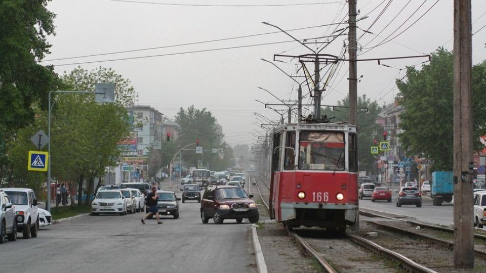Трамвай. Бийск
