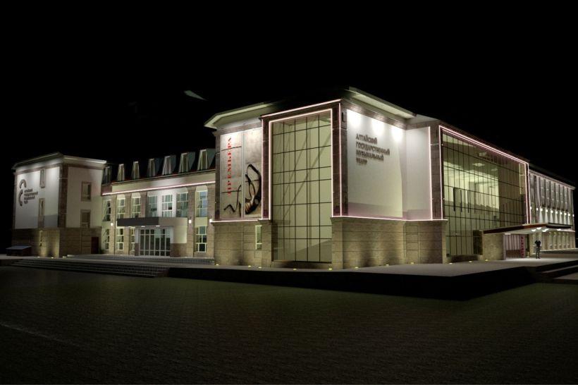 Проект ремонта фасада музтеатра Фото:Минкультуры Алтайского края