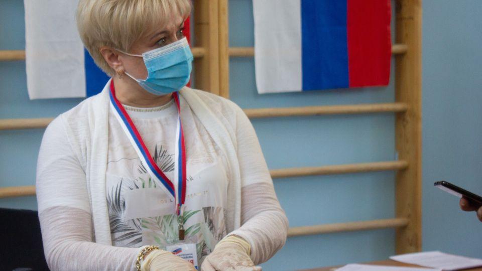 Глава избиркома Алтайского края Ирина Акимова