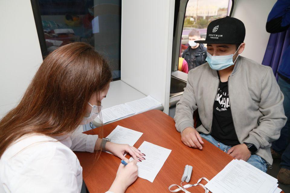 Выездная вакцинация в Барнауле