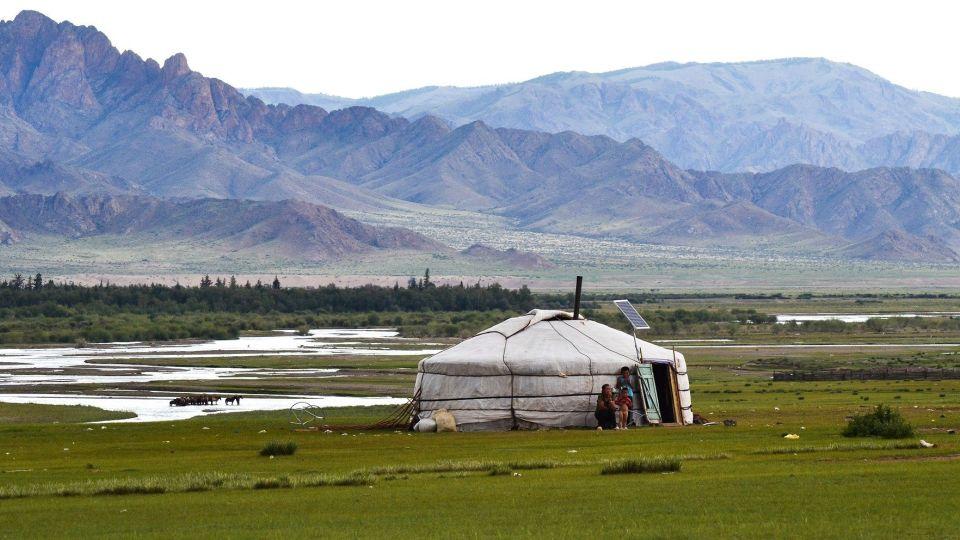 Юрта. Горный Алтай. Монголия