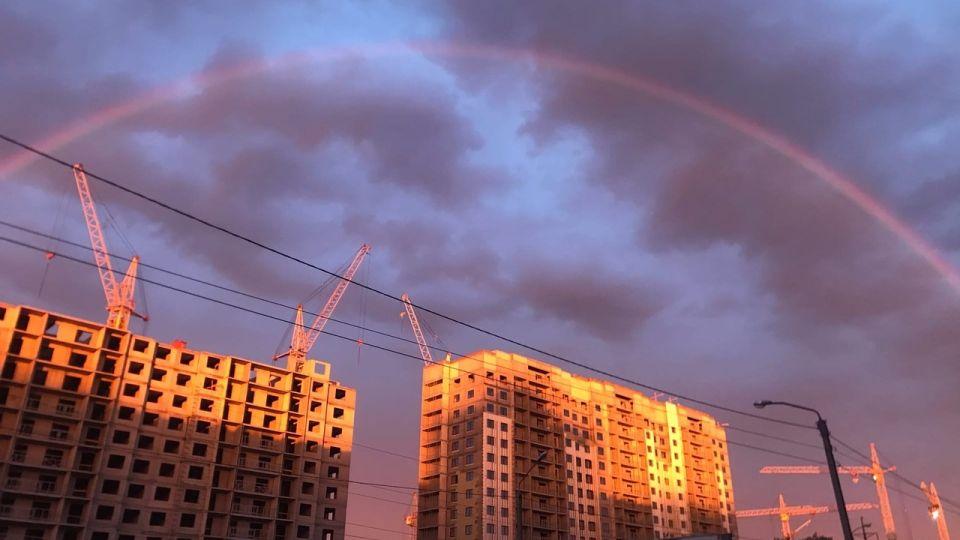 Летний рассвет в Барнауле