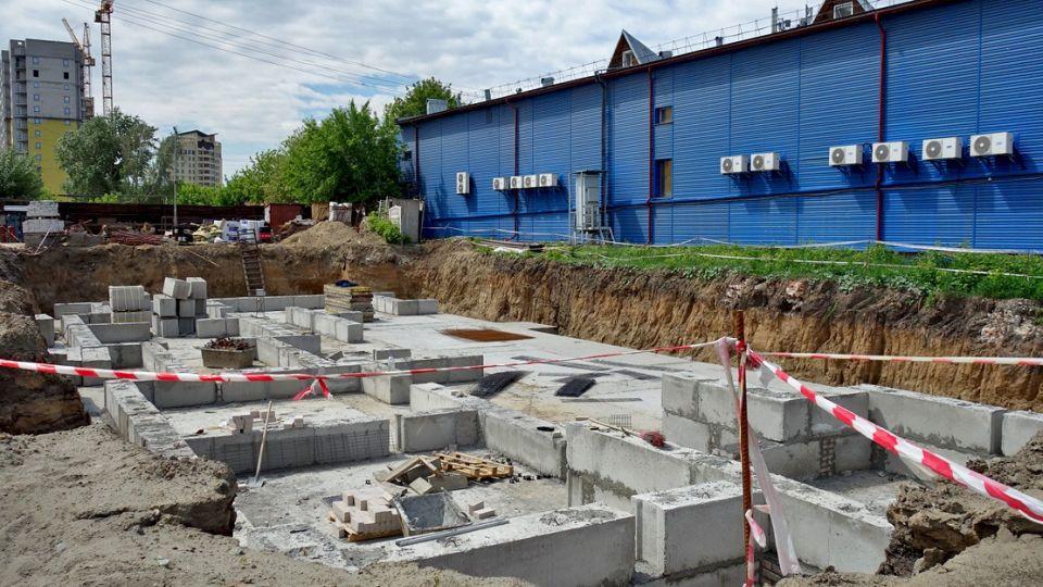 Строительство дома в районе Нового рынка