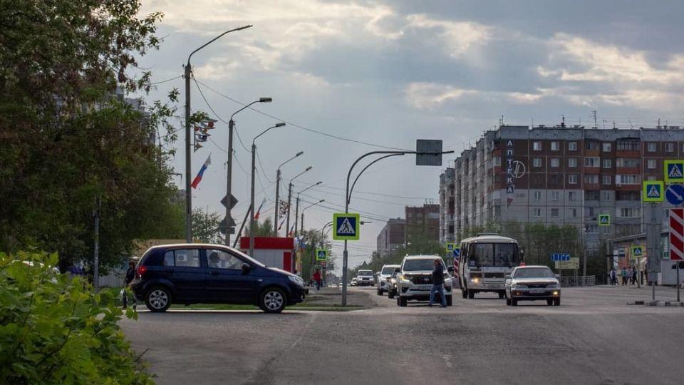 Улица Энтузиастов. Барнаул