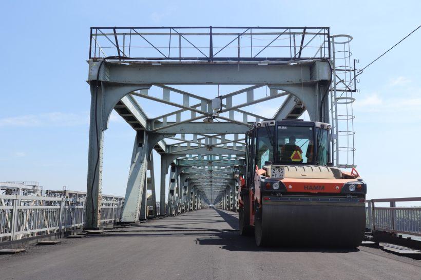 Старый мост в Барнауле Фото:altay.rosavtodor.ru