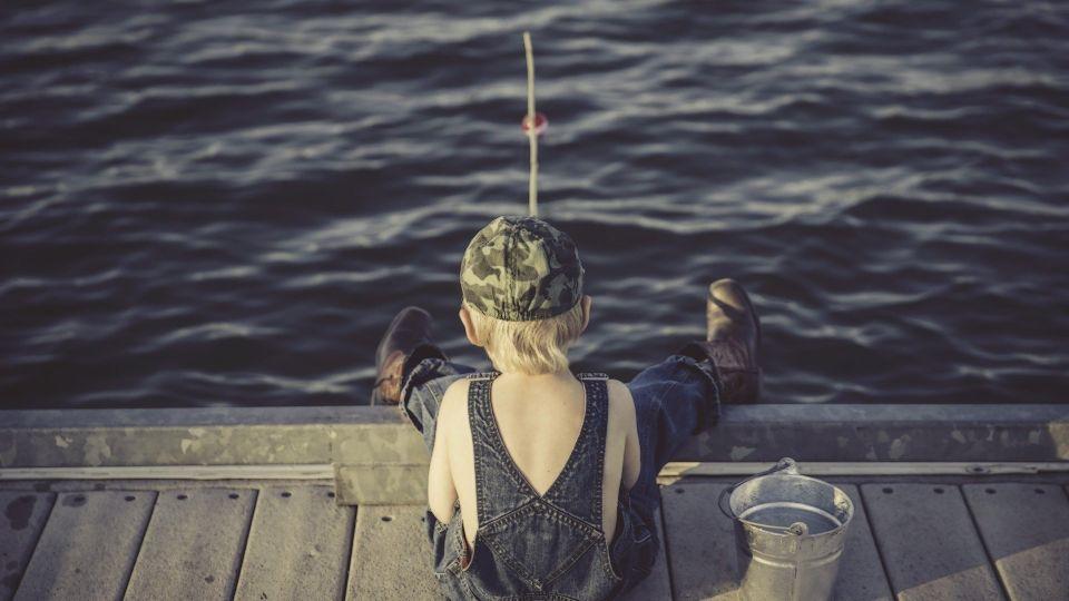 Мальчик. Рыбалка