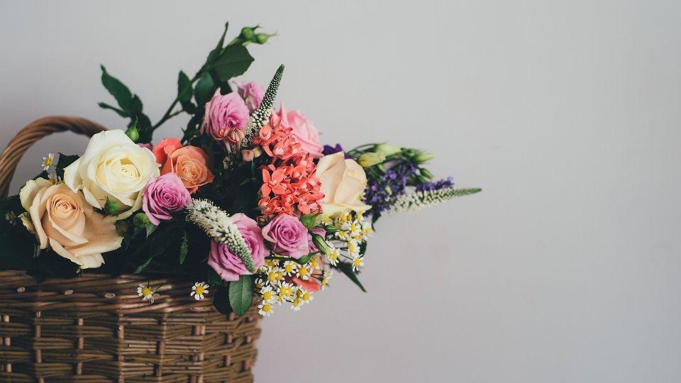 Букет. Цветы. Корзина