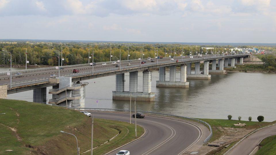 Мост через Обь. Барнаул